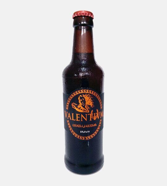 Cerveza artesana VALENTIVM Brown Ale